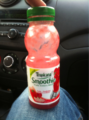 Smoothie fraise framboise TROPICANA, 25cl