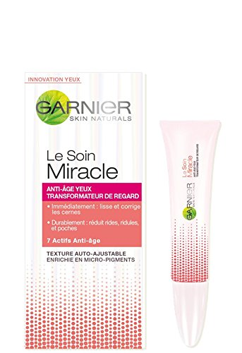 Garnier Yeux Soin Miracle Anti-âge Transformateur de Regard 50 ml - Lot de 2