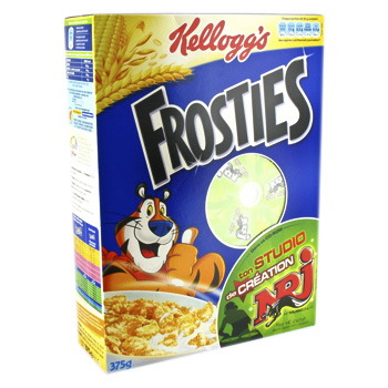 cereal kellogs frosties 600g