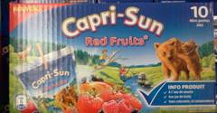 Boisson aux fruits Capri Sun Fruits rouges 10x20cl
