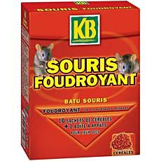 Cereales souricides foudroyantes KB, 100g