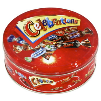 Celebrations boite metal 450g