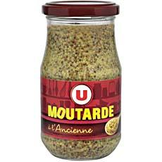 Moutarde a l'ancienne U, bocal de 350g