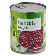 haricots rouges auchan 500g