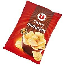 Chips ondulees fines U, 150g