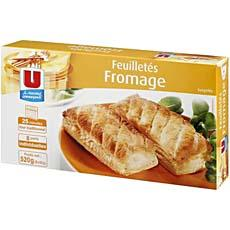 8 Feuilletes au fromage U, 520g
