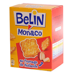 Crackers aux fromages de Hollande Monaco BELIN, 100g