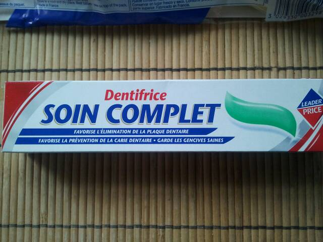 Dentifrice soin complet 75ml