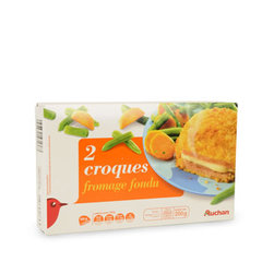 Auchan croque fromage x2 -200g