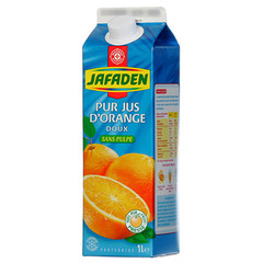 Jus orange Jafaden Sans pulpe 1l