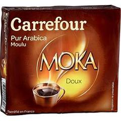 Cafe moulu Doux pur arabica