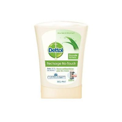 Dettol no touch recharge aloe vera 250ml
