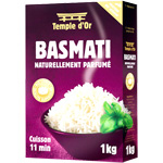 Temple d'Or riz basmati 1kg