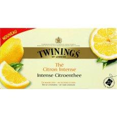 The parfume facon tarte au citron TWININGS, 25 sachets, 40g