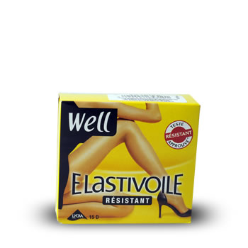 Collants Well Elastivoile Resistant ibiza T3