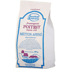 Metton au lait thermise POITREY, 0%MG, 500g