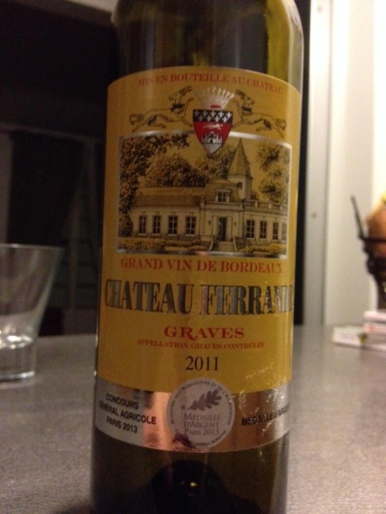 Vin rouge graves mdc chateau ferrande bouteille de 75cl for Chateau ferrande