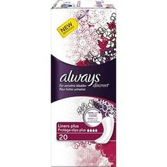 Always discreet incontinence protege slip plus x20