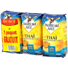 Riz Thai LOT de 3