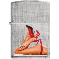 Zippo 50811107 Briquet Red Shoes and Tattoo 3,5 x 1 x 5,5 cm