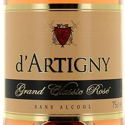 Effervescent d'Artigny Grand classic rose 75cl