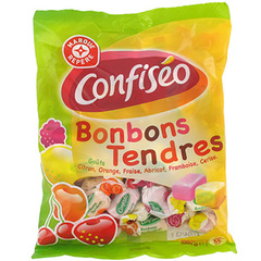Bonbons Confiserie du Domaine Tendres fruits 360g