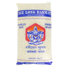 Riz long basmati