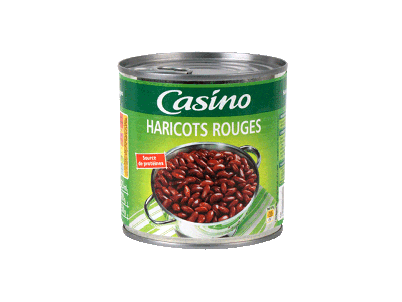 Haricots rouges Casino 250g