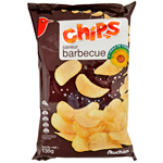 Auchan chips barbecue a l'huile de tournesol 135g