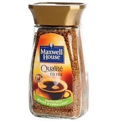 Cafe soluble Maxwell House Qalite filtre 100g