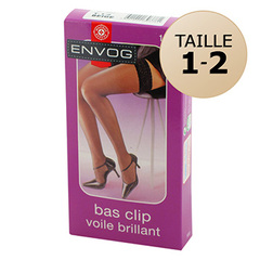 Bas Up voile brillant Taille 1/2 beige