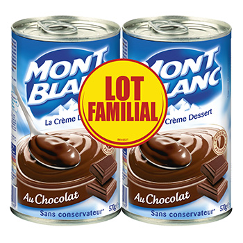 mont blanc creme chocolat 2x570g prix choc tous les produits cr mes dessert en conserve prixing. Black Bedroom Furniture Sets. Home Design Ideas