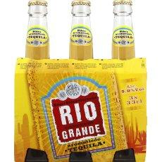 Biere aromatise Tequila RIO GRANDE, 5,9°, 3x33cl