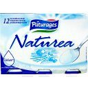Naturea, yaourts nature, 12 x 125g,1,5Kg