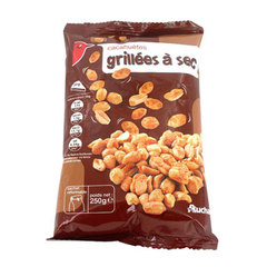Cacahuetes grillees a sec 1 x 250g