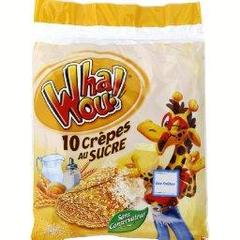 Crepe Whaou Sucre x10 256g