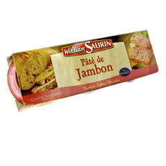 Pate au jambon William Saurin 1/10 x3 230g
