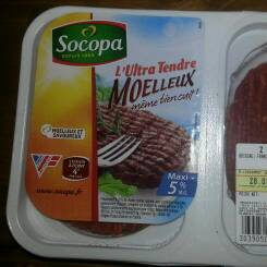L'Ultra Tendre - Steaks hach?s pur boeuf 5%MG Mo?lleux m?me bien cuit !