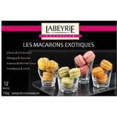 Labeyrie 12 macarons exotiques 125 g