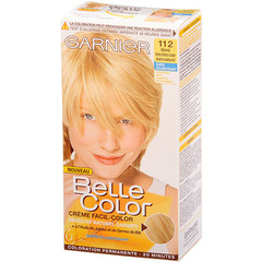 Coloration Belle Color n°112 Blond tres tres clair dore