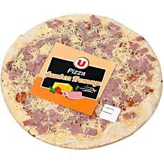 Pizza jambon fromage U, 450g