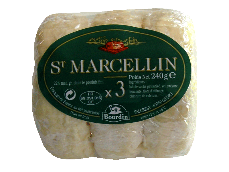 Saint Marcellin x3 22%MG