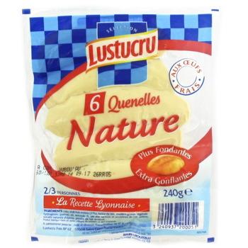 Quenelles nature lustucru selection 6 pieces 240g tous les produits plats de p tes prixing - Comment cuisiner des quenelles nature ...