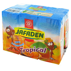 Leclerc fruits Jafaden tropical 6x20cl