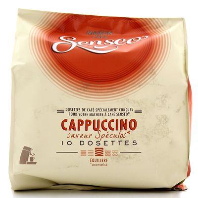 dosettes cappuccino saveur sp culos senseo tous les produits caf s en dosettes prixing. Black Bedroom Furniture Sets. Home Design Ideas