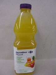 Nectar multi-vitamine, 10 fruits a base de jus concentres