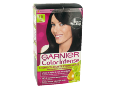 Garnier - Color Intense - Coloration permanente Noir - 1.0 noir - Lot de 2