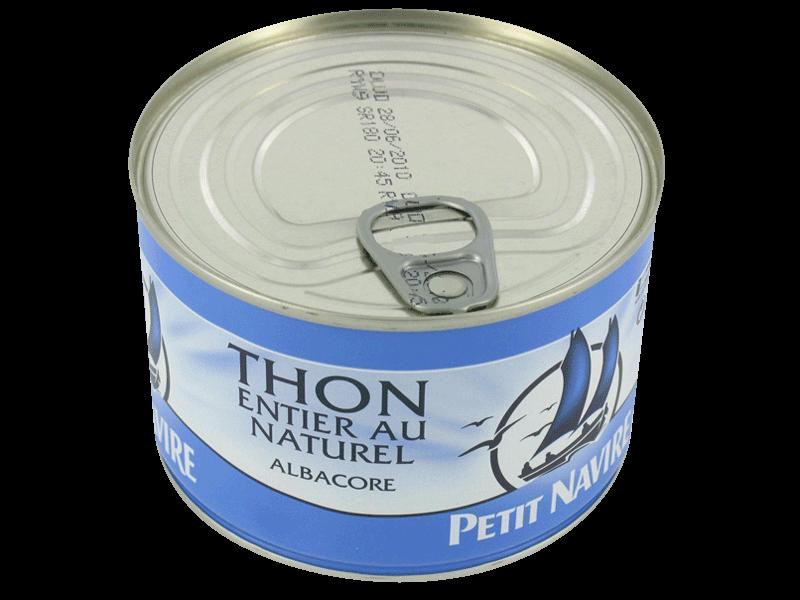 thon entier a l 39 huile vegetale la boite 800g tous les produits thon prixing. Black Bedroom Furniture Sets. Home Design Ideas