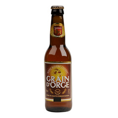 BIERE BLONDE GRAIN D'ORGE 33CL