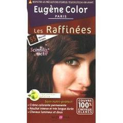 Coloration creme permanente Les Raffinees EUGENE COLOR, marron acajou n°55